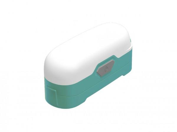 Taschenlampe, Grün, Kunststoff
