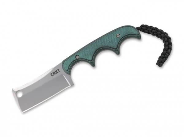 Feststehendes Messer, Grün, 5Cr15MoV, Micarta