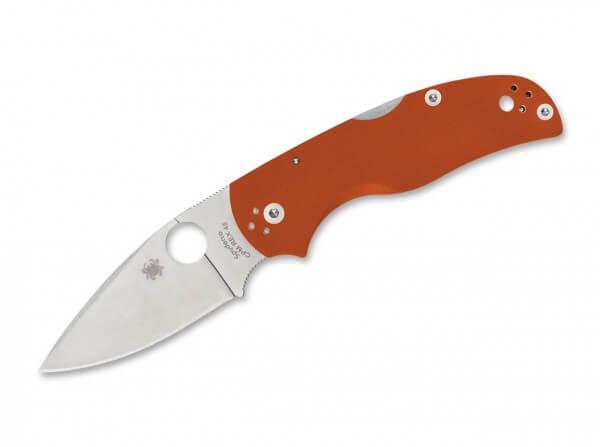 Taschenmesser, Orange, Daumenöffnung, Backlock, CPM-REX45, G10