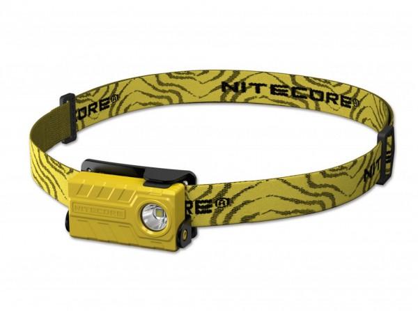 Stirnlampe, Gelb, Kunststoff
