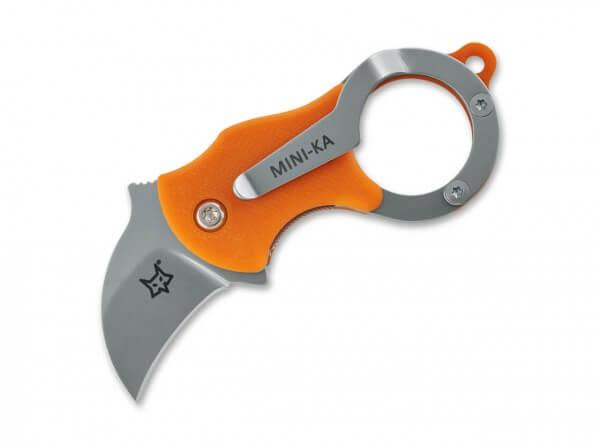 Taschenmesser, Orange, Linerlock, 4116, FRN
