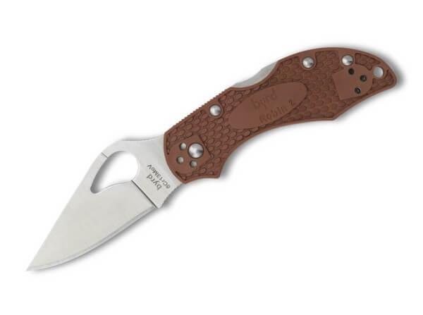 Taschenmesser, Braun, Daumenöffnung, Backlock, 8Cr13MoV, FRN