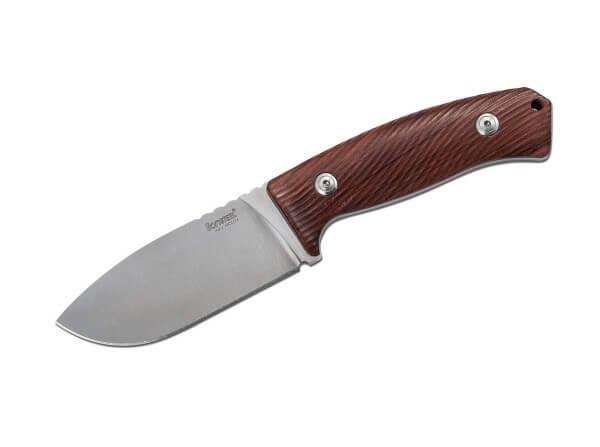 Feststehendes Messer, Braun, Feststehend, Niolox, Santosholz