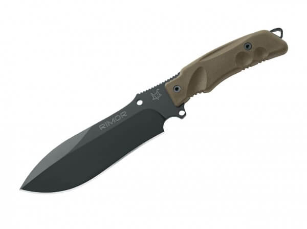Feststehendes Messer, Oliv, Feststehend, N690, FRN