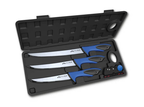 Feststehendes Messer, Blau, Feststehend, 4116, TPE