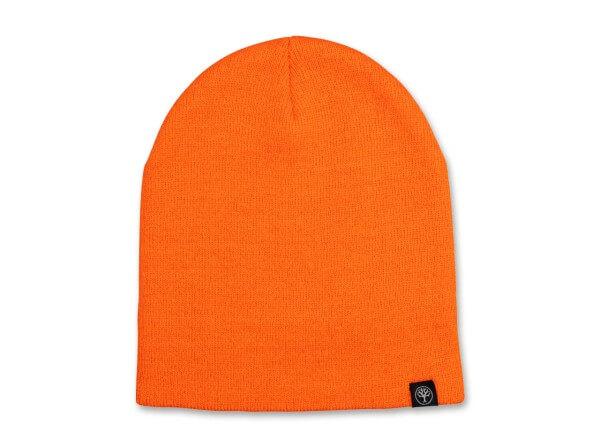 Mütze, Orange