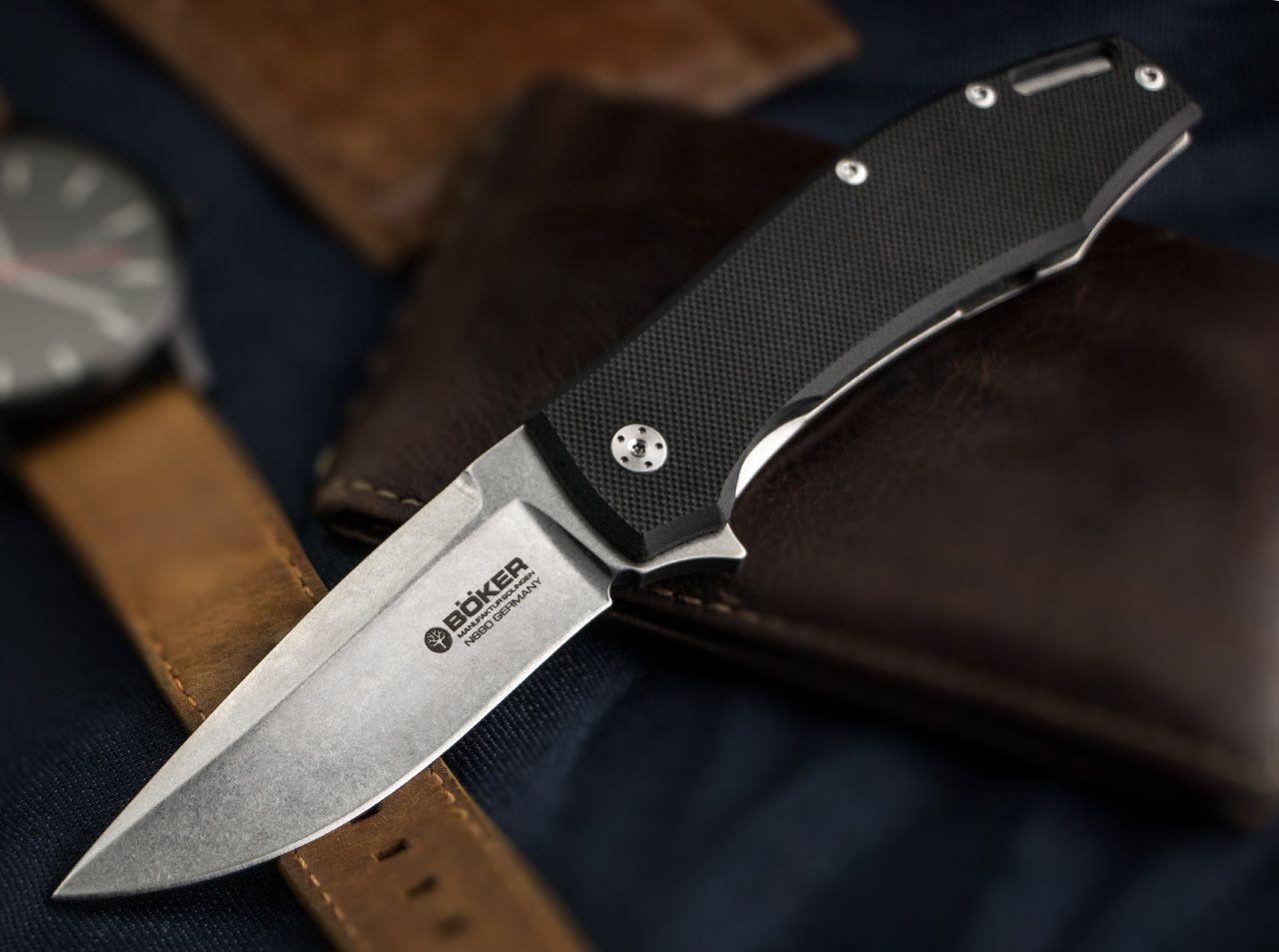 Schwarz One Size B/ÖKER Manufaktur Solingen KMP22 Taschenmesser