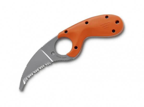 Feststehendes Messer, Orange, Feststehend, AUS-4, Zytel