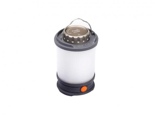 Campinglampe, Grau, Kunststoff