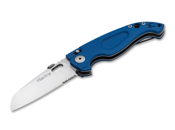 Taschenmesser, Blau, Daumenpin, TOL, Nitro-B, G10