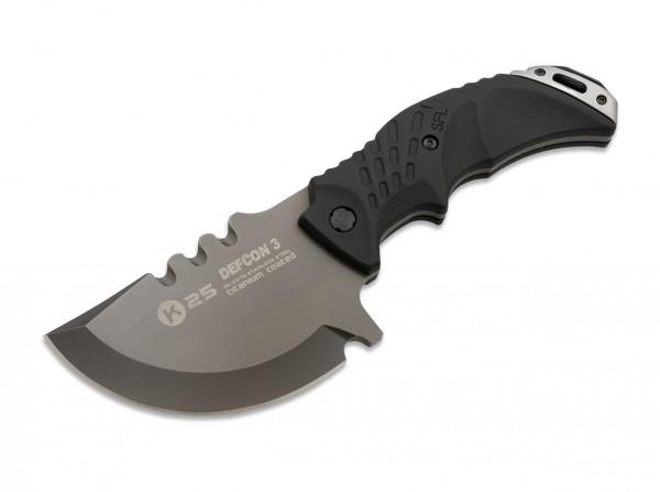 Feststehendes Messer, Schwarz