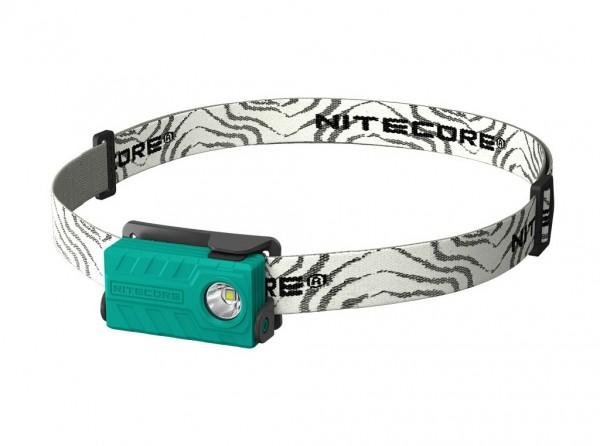 Stirnlampe, Grün, Kunststoff