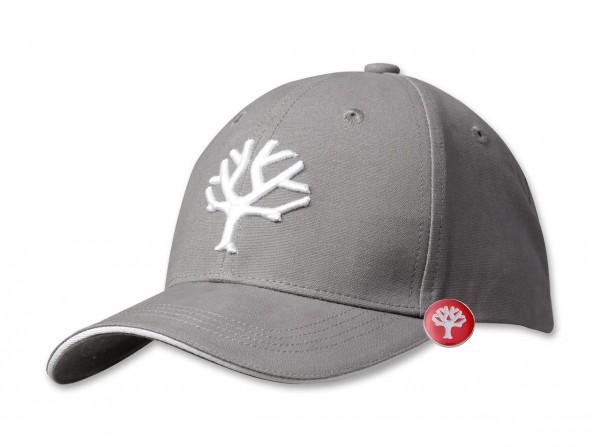 Cap Grey & White und Pin