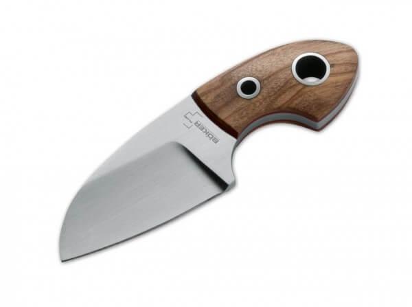 Feststehendes Messer, Braun, Feststehend, 440C, Olivenholz