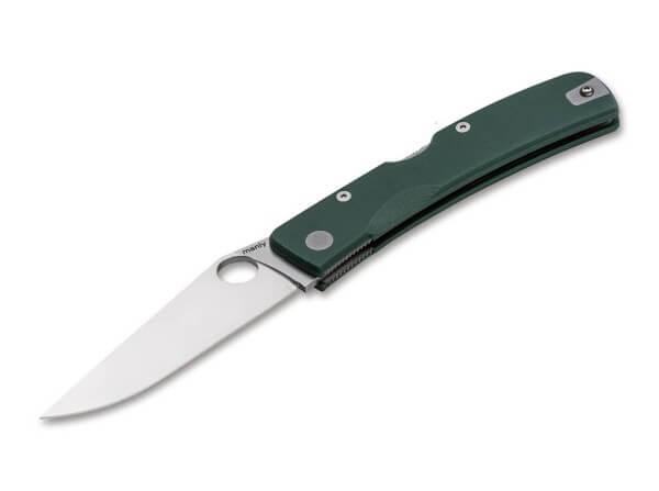 Taschenmesser, Grün, Daumenöffnung, Backlock, CPM-S-90V, G10