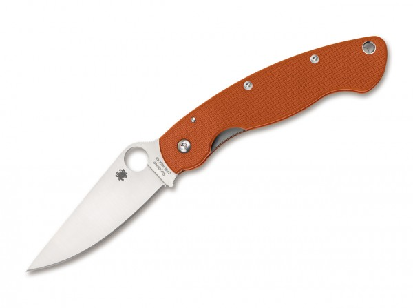 Taschenmesser, Orange, Daumenöffnung, Linerlock, CPM-REX45, G10