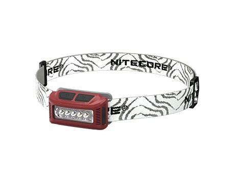 Stirnlampe, Rot, Kunststoff