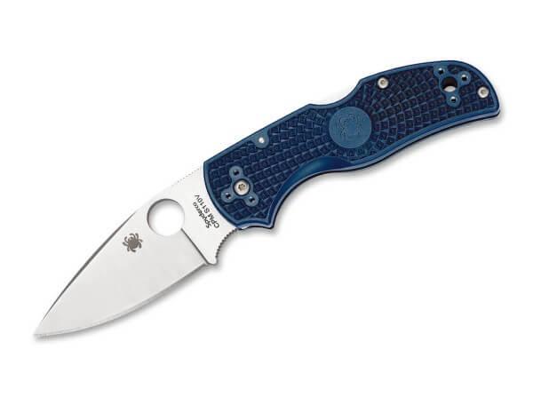 Taschenmesser, Blau, Daumenöffnung, Backlock, CPM-S-110V, FRN