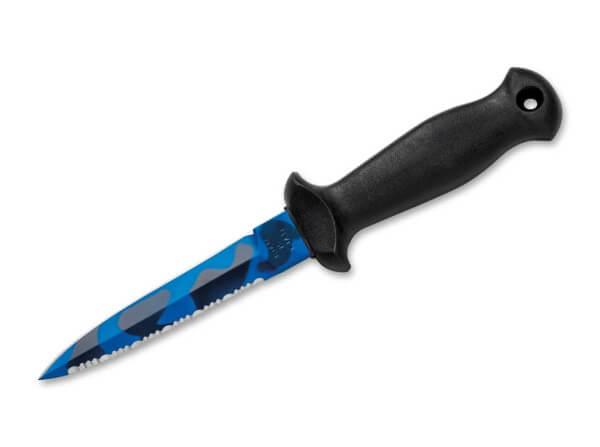 Feststehendes Messer, Schwarz, Feststehend, 4116, TPE