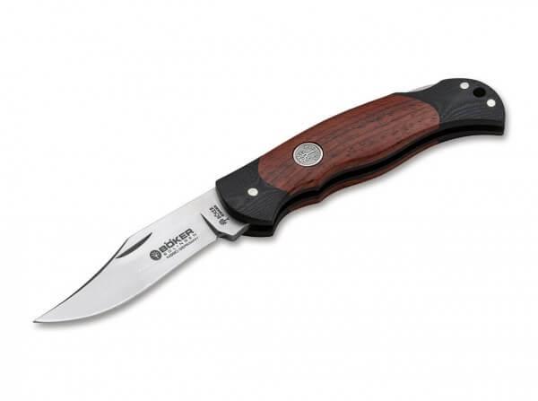 Taschenmesser, Braun, Backlock, N690, Cocoboloholz