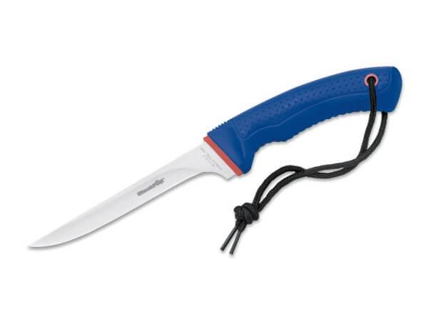 Feststehendes Messer, Blau, Feststehend, 420C, Polypropylen