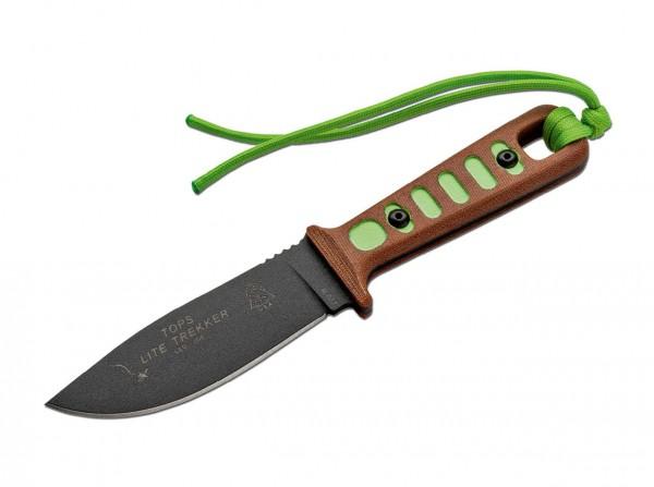 Feststehendes Messer, Grün, Feststehend, 1095, Micarta