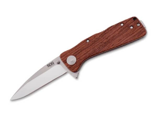 Taschenmesser, Braun, Flipper, Backlock, AUS-8, Palisanderholz