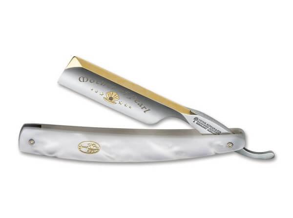 Rasiermesser, Weiß, O1, Perlmutt-Imitat
