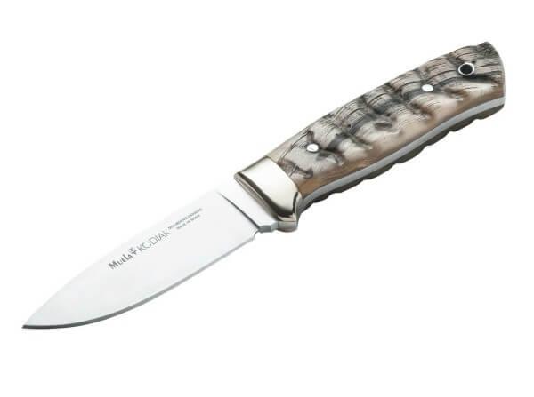Feststehendes Messer, Braun, Feststehend, 4116, Widderhorn