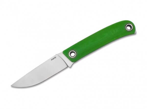 Feststehendes Messer, Grün, Feststehend, CPM-154, G10