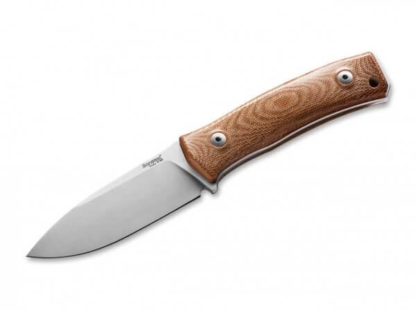 Feststehendes Messer, Braun, M390, Micarta