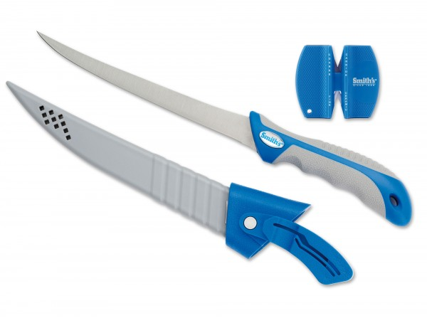 Feststehendes Messer, Blau, TPR