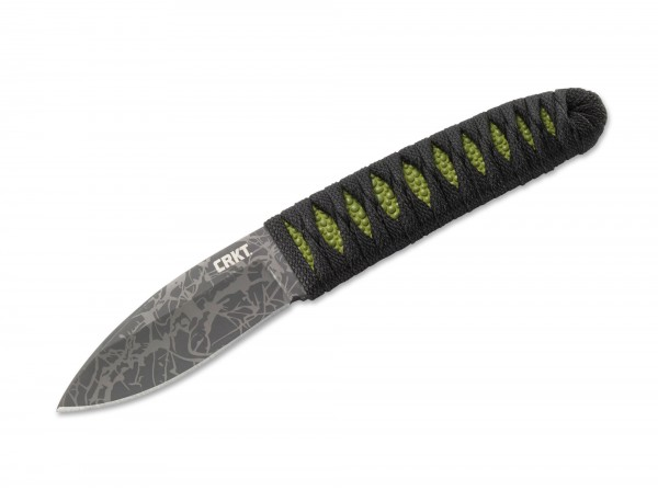 Feststehendes Messer, Grün, Feststehend, 8Cr13MoV, Paracord
