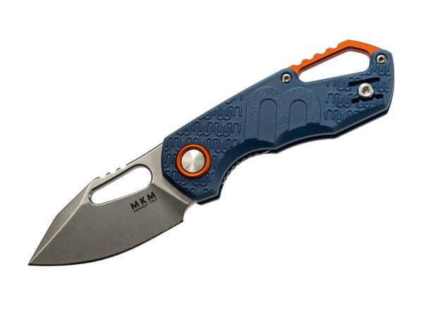 Taschenmesser, Blau, Daumenöffnung, Linerlock, N690, FRN