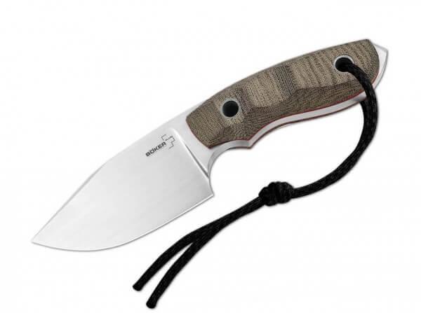 Feststehendes Messer, Grün, Feststehend, AUS-8, Micarta