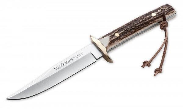 Feststehendes Messer, Braun, Feststehend, 4116, Hirschhorn