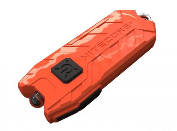 Taschenlampe, Orange, Kunststoff
