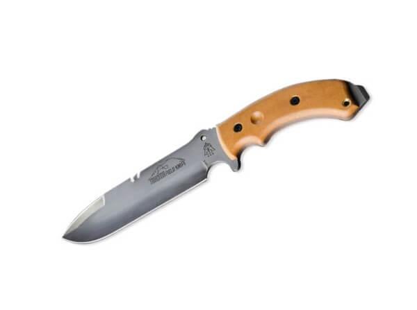 Feststehendes Messer, Braun, Feststehend, 1095, Micarta