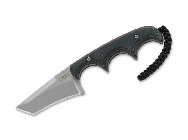 Feststehendes Messer, Schwarz, Feststehend, 5Cr15MoV, Micarta