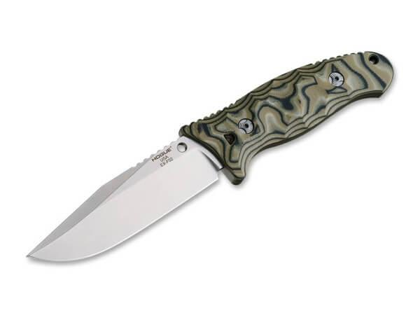 Feststehendes Messer, Grün, Feststehend, 154CM, G10