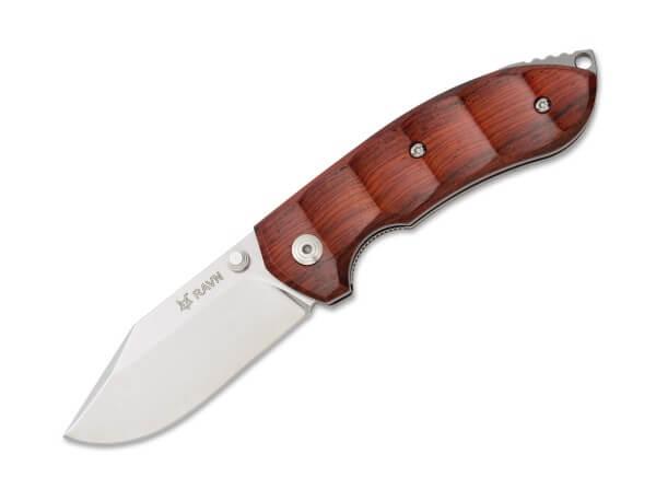 Taschenmesser, Braun, Daumenpin, Linerlock, N690, Cocoboloholz