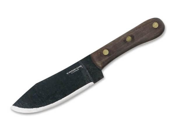 Feststehendes Messer, Braun, Feststehend, 1075, Walnussholz