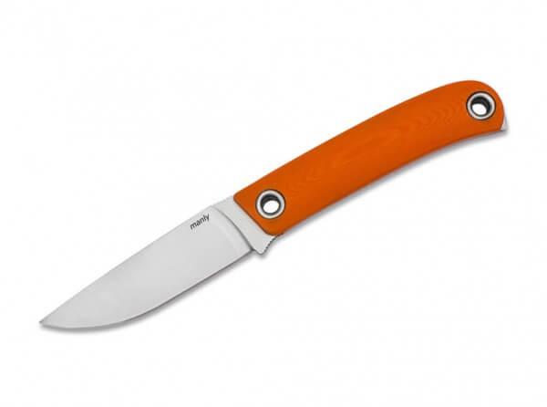 Feststehendes Messer, Orange, Feststehend, CPM-154, G10