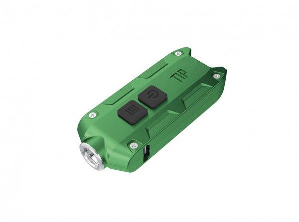 Taschenlampe, Grün, Aluminium