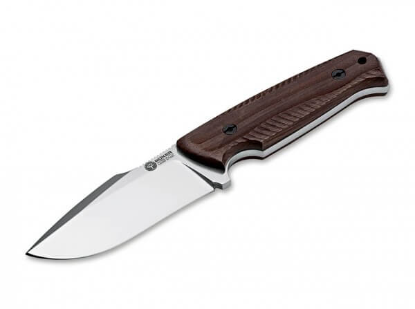 Feststehendes Messer, Braun, N695, Guayacan-Ebenholz