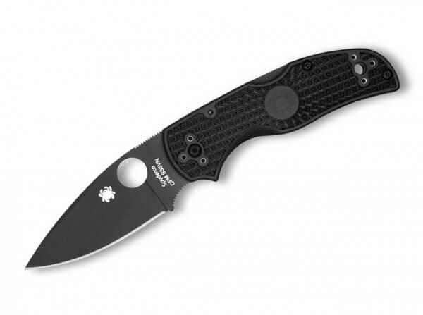 Taschenmesser, Schwarz, Daumenöffnung, Backlock, CPM-S-30V, FRN