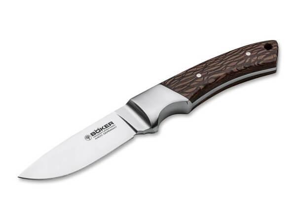 Feststehendes Messer, Braun, Feststehend, 440C, Perlholz