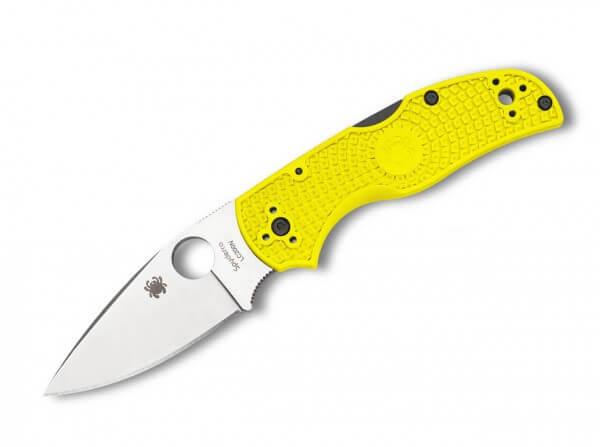 Taschenmesser, Gelb, Daumenöffnung, Backlock, LC200-N, FRN