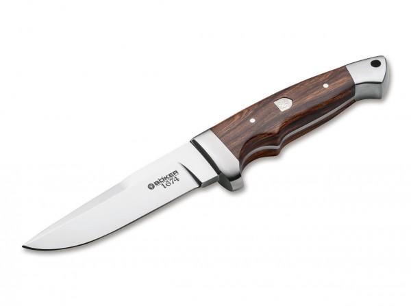 Feststehendes Messer, Braun, Feststehend, 440C, Wüsteneisenholz