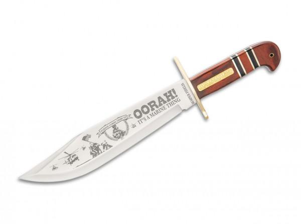 Feststehendes Messer, Braun, 3Cr13MoV, Hartholz